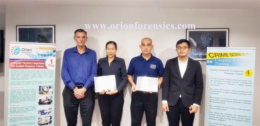 Digital Forensics Foundation Training
