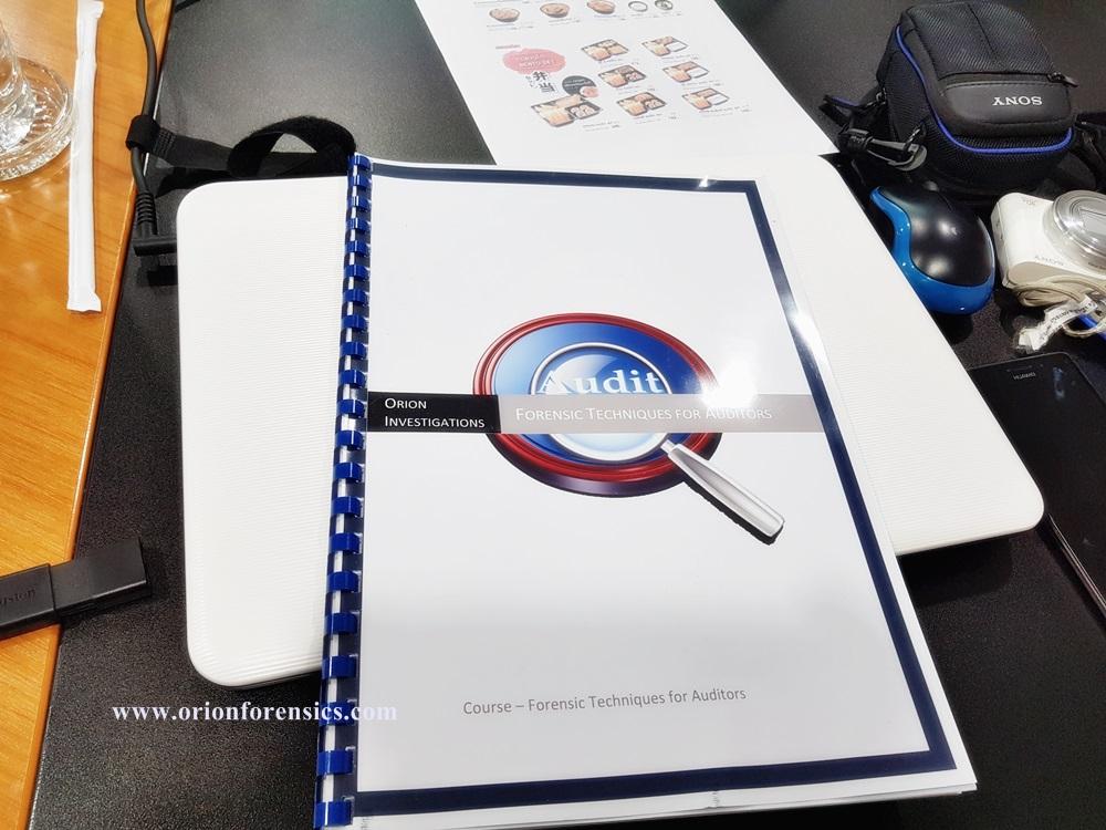 อบรม [Hands-on Workshop] Forensic Techniques for IT Auditors Course1
