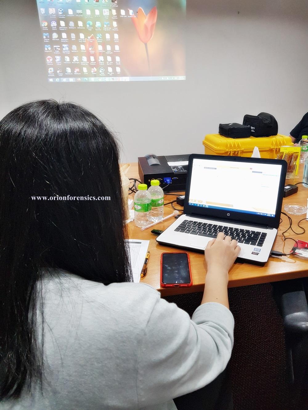 อบรม [Hands-on Workshop] Forensic Techniques for IT Auditors Course2