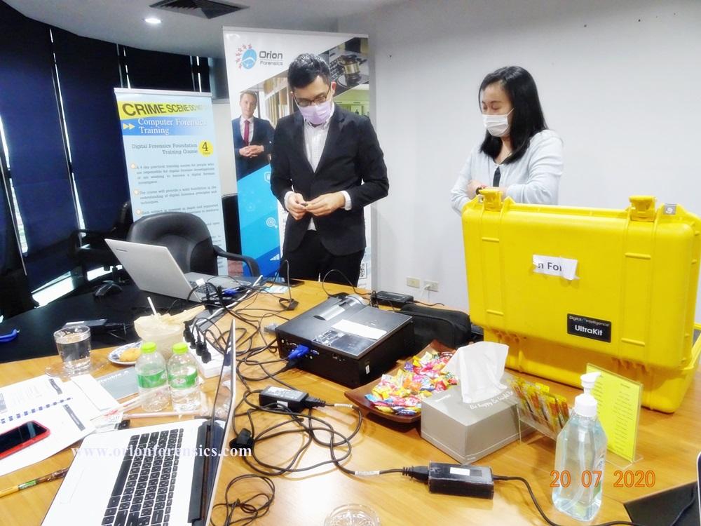 อบรม [Hands-on Workshop] Forensic Techniques for IT Auditors Course3