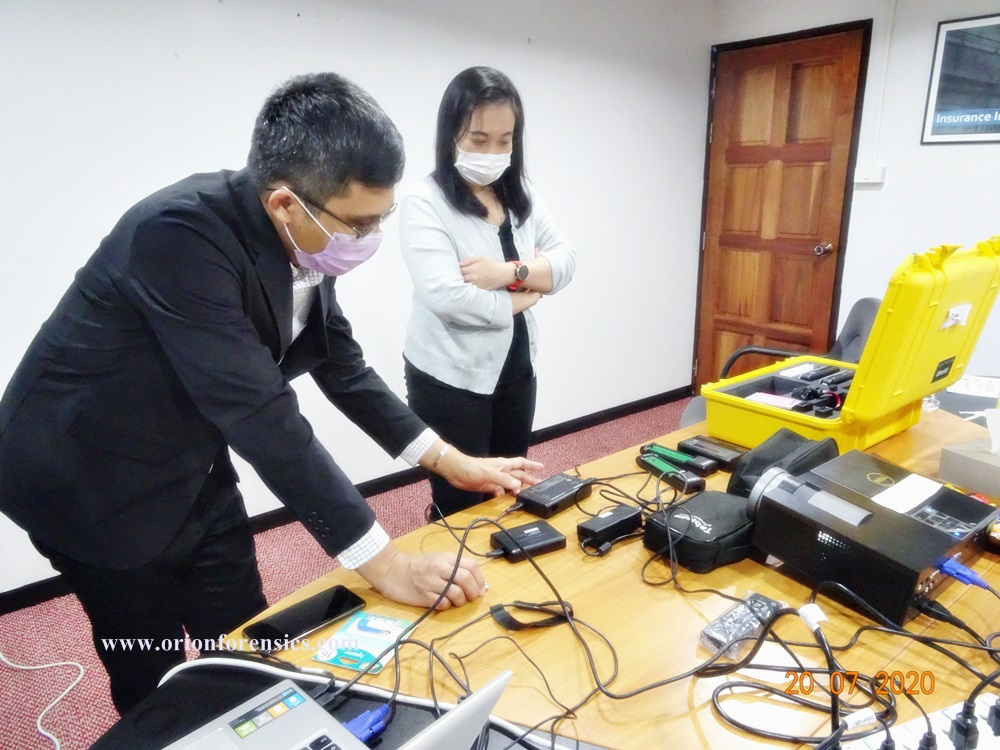 อบรม [Hands-on Workshop] Forensic Techniques for IT Auditors Course4