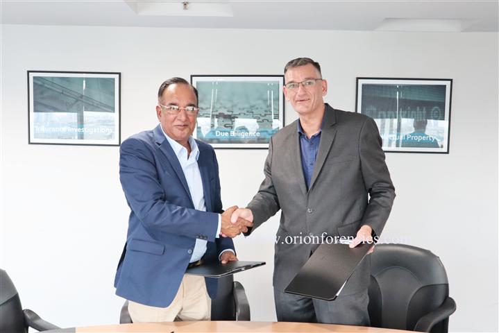 Orion Forensics LAB ได้ลงนามบันทึกลงนามข้อตกลง (MOU) กับสถาบัน Korat Institute of Technology (Kiet)ในประเทศไทย